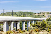 Railway viaduct for TGV train near Vernegues, Provence, France — Stock Photo