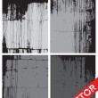 Stock Vector: Vector Grunge Texture Set