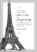 Vector Parisian Ornate Frame — Stock Vector