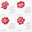 Royalty-Free Stock Imagen vectorial: Vector Flower Frame Set