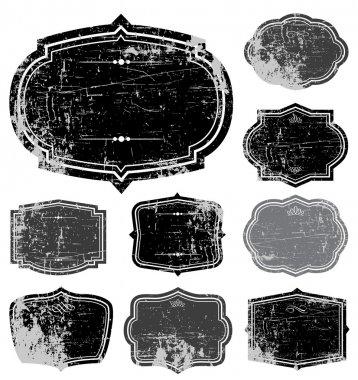 Vector Distressed Frame Set