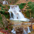 Waterfalls on mountain river — Stock Photo