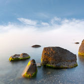Manhã cedo no mar — Foto Stock