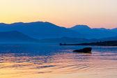 Paysage de la mer en temps de soirée — Photo