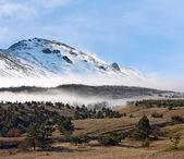 горный landsacpe — Стоковое фото