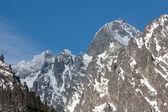 Mountains peak — Stock Photo