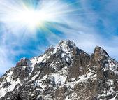 Roca de la montaña — Foto de Stock