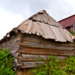 Old wooden houses — Stock Photo