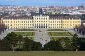 View on Schonbrunn Palace — Stock Photo