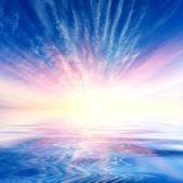 Sunshine in sky — Stock Photo
