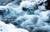 Winter stream — Stock Photo