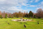 Park in Schonbrunn Palace — Stock Photo