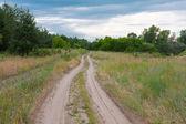 Rural road — Stockfoto