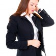 Business woman have a headache — Stock Photo #7977528
