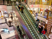 In het winkelcentrum — Stockfoto