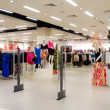 Stock Photo: Interior of clothing store
