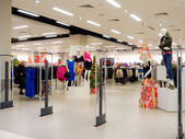 Interior of clothing store — Stock Photo
