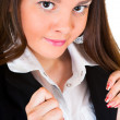 Young businesswoman portrait — Stock Photo