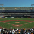 Oakland A's Coliseum Baseball Stadium — Foto Stock #10532568