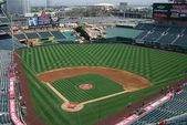 Los Angeles Angel Stadium of Anaheim — Stock Photo