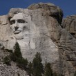 Stock Photo: Lincoln on Mount Rushmore