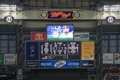 Miller Park Scoreboard — Stock Photo