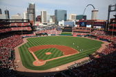 Busch Stadium - St. Louis Cardinals — Stock Photo