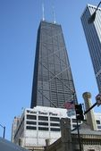 Hancock tower — Stock fotografie