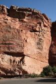 Mountain Slope - roter Fels — Stockfoto