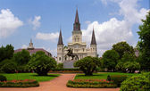 Jackson Square - New Orleans — Stock Photo