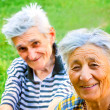 Happy senior couple — Stock Photo