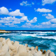 Peaceful idyllic seascape — Foto Stock