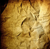 Grunge background - crumpled vintage old burnt paper — Stock Photo