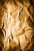 Grunge background - creased vintage paper — Stock Photo