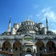 Blue mosque or Sultanahmet in Istanbul Turkey - Stock Photo