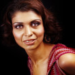 Glamour portrét ženy s krásnýma očima — Stock fotografie