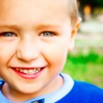 Smile of joyful happy child — Stock Photo #9922141
