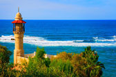 Landscape view from Tel Aviv coastline, Israel — Stock Photo