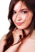 Franca belleza - una bella mujer sensual — Foto de Stock