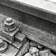 Railway detail - Stock Photo