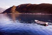 Boat in Montenegro — Stock Photo