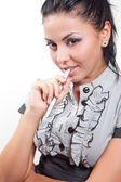 Mujer de negocios creativo e inteligente — Foto de Stock