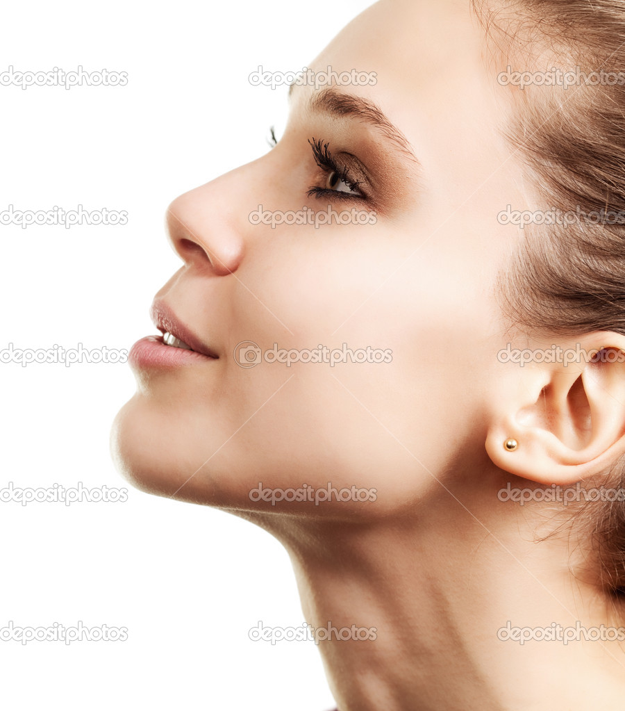 Фото красивых женских профилей 30 фотография