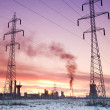 Pollution energy and industry concept — Stock Photo #9981288