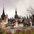 Stock Photo: Peles Castle in Romania