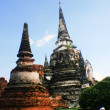 Wat Phra Si Sanphet - Stock Photo