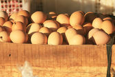 Eggs in Market — Stock Photo
