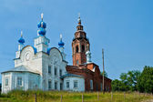 Resurrection cathedral in cherdyn — Stock Photo