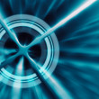 Target concept abstract futuristic background - Stock Photo