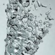 Water splash abstract background - Stock Photo